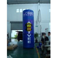 China Oxford 4m Advertising Helium Balloons Custom Inflatable Pillar For Trade Show wholesale