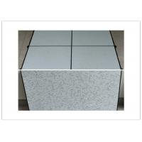 China 600×600×35mm Raised Computer Floors For Controlled Telephone Exchange Center wholesale