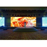 China P10 SMD 3528 High resolution full color led display boards for gym / airport wholesale