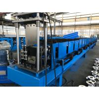 China 7.5kw Pre Engineering Building Forming Machine , 18 Stations Gutter Roll Forming Machine wholesale