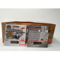 Quality Convenient Rhino Pills Blister Pack Packaging With Embossing Surface Effect for sale
