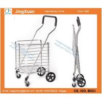 China RE1107L Portable Folding Shopping Cart, Grocery Shopping Made Easy Utility Cart Trolley wholesale