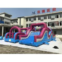 China 0.5mm PVC Material Customized Giant Inflatable Obstacle Course Combo wholesale