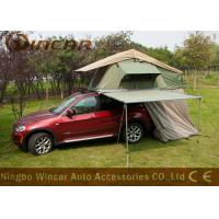 China Car roof top tent 4WD Car Side Awning with Riptop Canvas for Camping wholesale