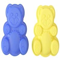 Quality Custom Non - toxic Food Grade Animals Flexible Silicone Molds for Cake for sale