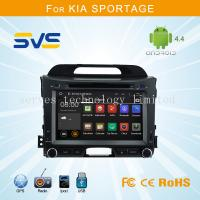 China Android 4.4 car dvd player GPS navigation for KIA Sportage R 2010-2014 quad core in Dash wholesale