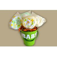 China Unique New Borns Baby Clothing Bouquet Gift , Infants baby shower bouquet wholesale
