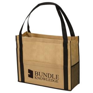 China Customized Reusable Non Woven Handbag Laminated Bags Good Breathability wholesale