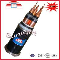 China 110kv XLPE Power Cable / Multi Core Armoured Cable For Power Station on sale
