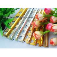 Buy cheap Colored Metal Quarter Round Tile Trim For Wall Corner / Ceramic Tile Edge Trim from wholesalers