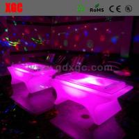 Buy cheap Modern Coffee LED Table And Chairs Lightweight 140 * 80 * 58 Cm Size from wholesalers