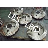 China High Pressure Double Helical Gear Electric Water Pump Gearbox Parts Big Spiral Bevel Steel Material wholesale