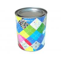 China Wholesale promotional round coffee tin with lever lid wholesale