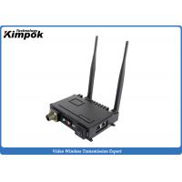 Buy cheap 2x2 MIMO Mobile IP MESH Video Voice Data Network Wireless Communication Systems for IP Camera from wholesalers