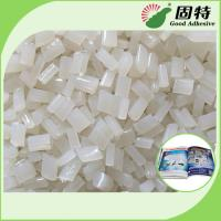 China Eva Adhesive Hot Melt Glue For Bookbinding & Album For Laminated Cover Bookbinding Good Viscosity on sale
