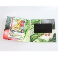 China Large Screen Printing Paper Video Talking Card With Speaker 1000 - 10000m Ah Battery wholesale