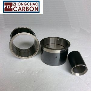 China Custom Shield Pumps Bushing Sleeve Bearing , Motors Flanged Sleeve Bearing on sale