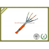 China 24AWG Cat7 STP Network Fiber Cable 1000ft For High Speed Transmission wholesale
