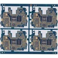 China Blue Rogers 4 Layer PCB Board Prototype Printed Circuit Board 1.6MM Thickness on sale