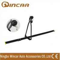 China Universal iron car Roof Bike Carrier , Professional roof mount bike rack with key wholesale