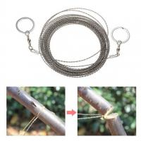 Buy cheap 10M Survival Wire Saw Cutter Outdoor Emergency Fretsaw Camping Hunting Wire Saw Survival Tool Stainless Steel Climbing G from wholesalers