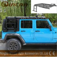 China Luggage Car Roof Racks Alininum / Steel Material For Jk Jeep Wrangler wholesale