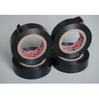 China Black Water Resistant PVC Electrical Tape For Cable Harnessing wholesale
