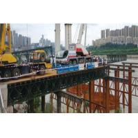 China Military Use Floating Pontoon Bridge Bailey System Modular Steel Bridges wholesale