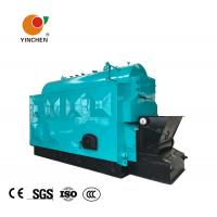 China Coal Biomass Fuel Horizontal Steam Boiler Blue With Automatic Slag Machine wholesale