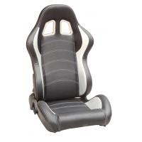China Full Reclinable Sport Racing Seats Black / Red / Blue / Yellow / Gray Color wholesale