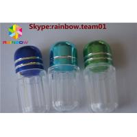 China empty plastic capsules pill container capsule case capsule shape container hexagonal shape capsule bottle wholesale