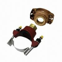 China Saddle Fittings, Secure TBS, IPFS, IEFS Flow Sensors to 3 to 12-inch Pipe on sale