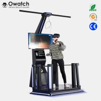 China VR Space Virtual Reality Standing Simulator Games Platform with HTC Vive wholesale