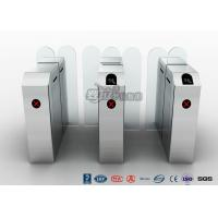 China Barcode Cargo Door Waist Height Turnstiles , Electric Access Control Turnstile wholesale