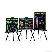 China Standing style aluminum frame advertising colorful led writing board wholesale