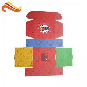 Eco Friendly Cardboard Corrugated Box Custom Logo Printed Paper Packaging