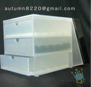 China BO (31) 3 tier acrylic display case wholesale