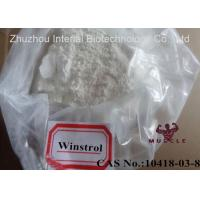 China Stanozolol / Winstrol / Winny Powder Cutting Cycle Steroid CAS 10418-03-8 wholesale