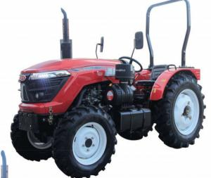 China 70hp 44.1kw Agriculture Farm Tractor With Four Wheel Drive wholesale