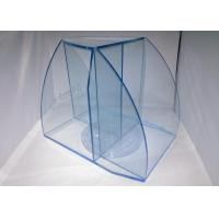 China 6mm Candy Acrylic Display Case , Blue Cast Acrylic Travel Case Display wholesale