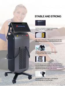 China FDA Stationary Q Switch 808 Diode Laser Hair Removal Machine wholesale