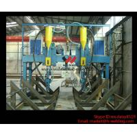 China LHA 4000mm H Beam Gantry Type Automatic  Welding Machine With Saw Welder wholesale