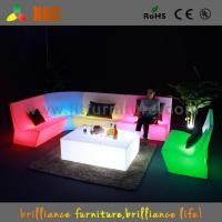China Outdoor Color Changing LED Light Sofa , Home Decoration LED Sectional Sofa wholesale