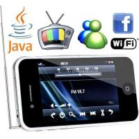 Dual SIM Card Dual Standby, 3.5 Inch Wifi Mobile Phones With TV, Java, Gmail, Google, MSN