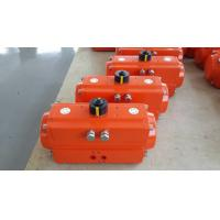China AT/GT  series double action or single action pneumatic rotary actuators control valves on sale