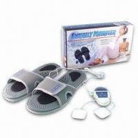 China Massage Slippers with One CR2032 Battery and Two Electrode Pads wholesale
