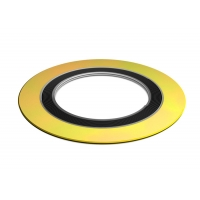 China Ptef 600lb Graphite Filled 316l Spiral Wound Gasket With Inner Ring wholesale