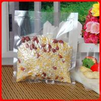 Quality Grip Seal Plastic Bags For Frozen Food Seed Corn / Vacuum Packaging Bag Rice for sale