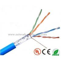 China CCA Lan Cable Telecommunication Network FTP Ethernet Cable 0.5mm PVC on sale