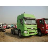 China Sinotruk HOWO 25 Tons White Prime Mover Truck D12.42 with two beds wholesale